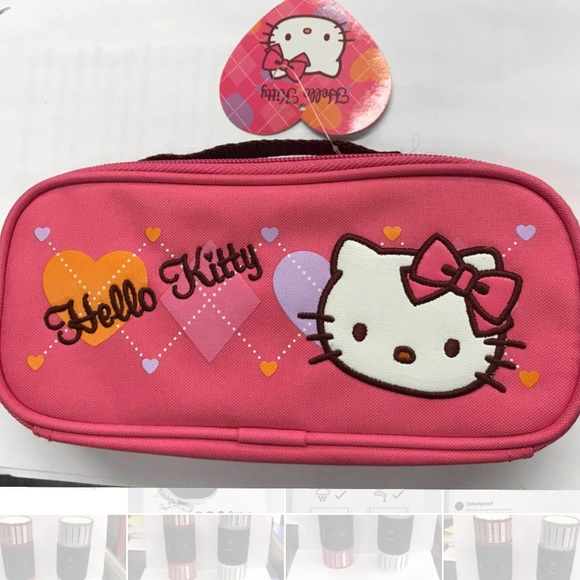 Girl Brand New Hello Kitty Pencil Case Pink